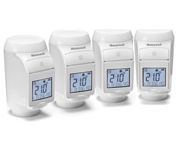 HONEYWELL Evo Home TRV Head - Pack of 4