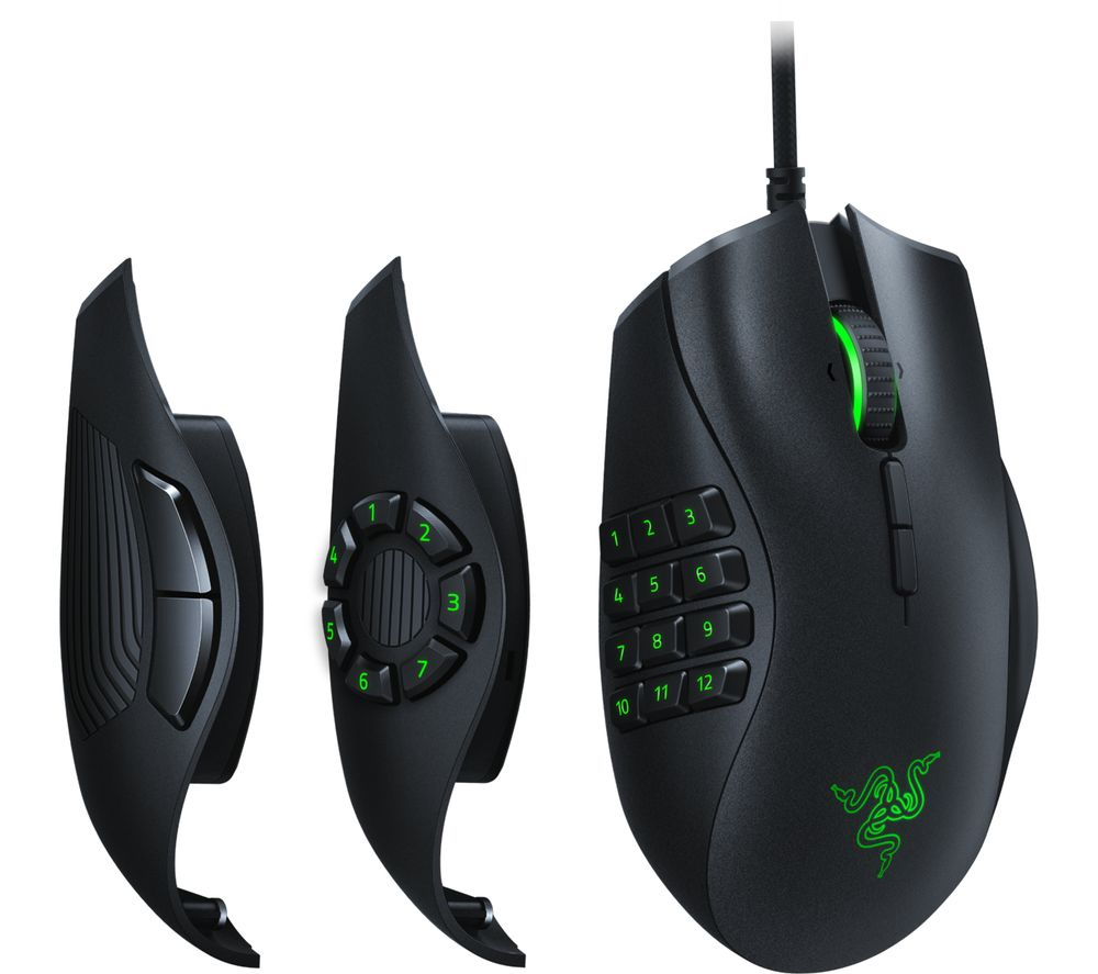 Image of Razer Naga Trinity mice USB Optical 16000 DPI Right-hand