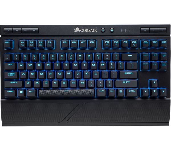 25152fb2af8 Buy CORSAIR K63 Wireless Mechanical Gaming Keyboard & Lapboard ...