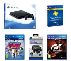 SONY PlayStation 4 Slim, Games & Accessories Bundle