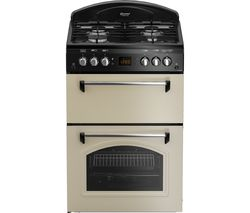 LEISURE CLA60GAC 60 cm Gas Cooker - Cream & Black