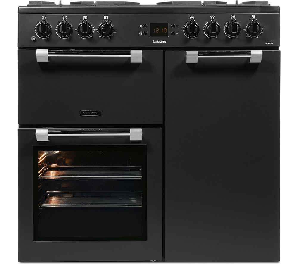 LEISURE CK90F530T 90 cm Dual Fuel Range Cooker - Black, Anthracite