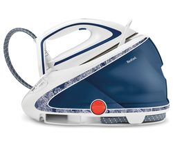 TEFAL Pro Express Ultimate GV9569 Steam Generator Iron - Blue & White