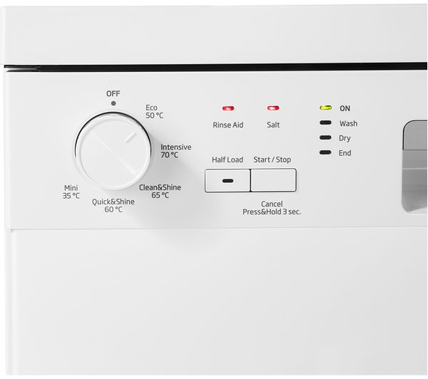 8ca26227c68 Buy BEKO DFN05X11W Full-size Dishwasher - White | Free Delivery | Currys