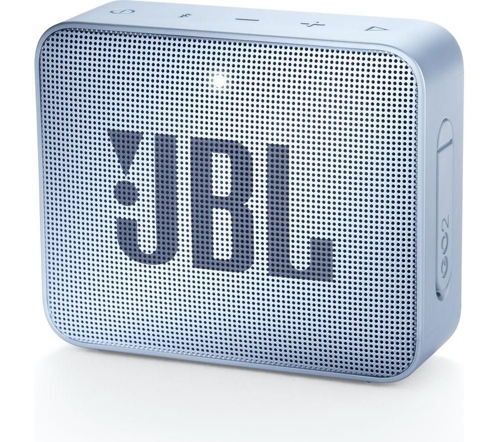 JBL GO2 Portable Bluetooth Speaker - Cyan, Cyan