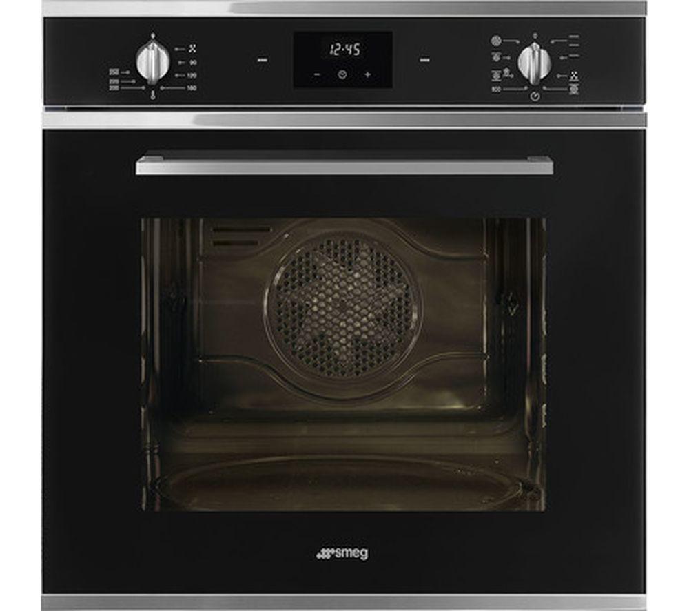 SMEG Cucina SF6400TVN Electric Oven - Black, Black