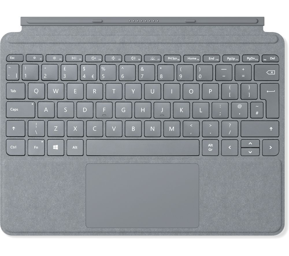MICROSOFT Surface Go Signature Typecover - Platinum