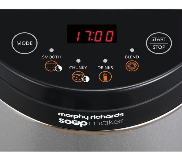 Morphy Richards 501040 Soup Maker Stainless Steel Fast