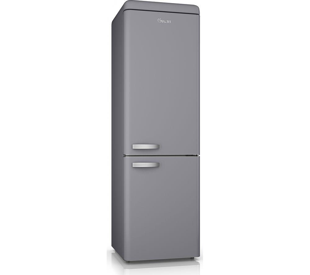 SWAN SR11020GRN 70/30 Fridge Freezer - Grey