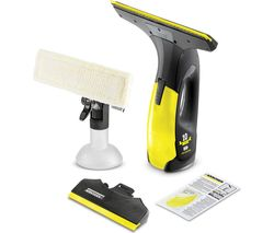 KARCHER WV Anniversary Edition Window Vacuum Cleaner - Black & Yellow