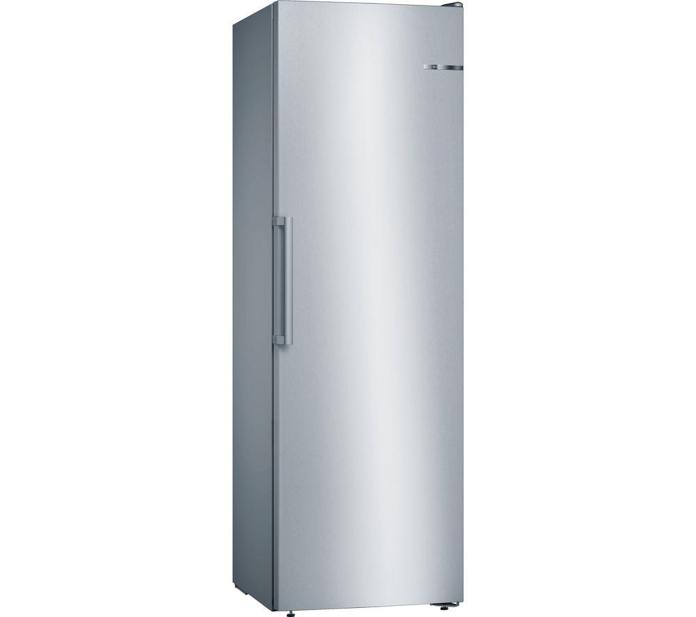 BOSCH Serie 4 GSN36VL3PG Tall Freezer - Inox