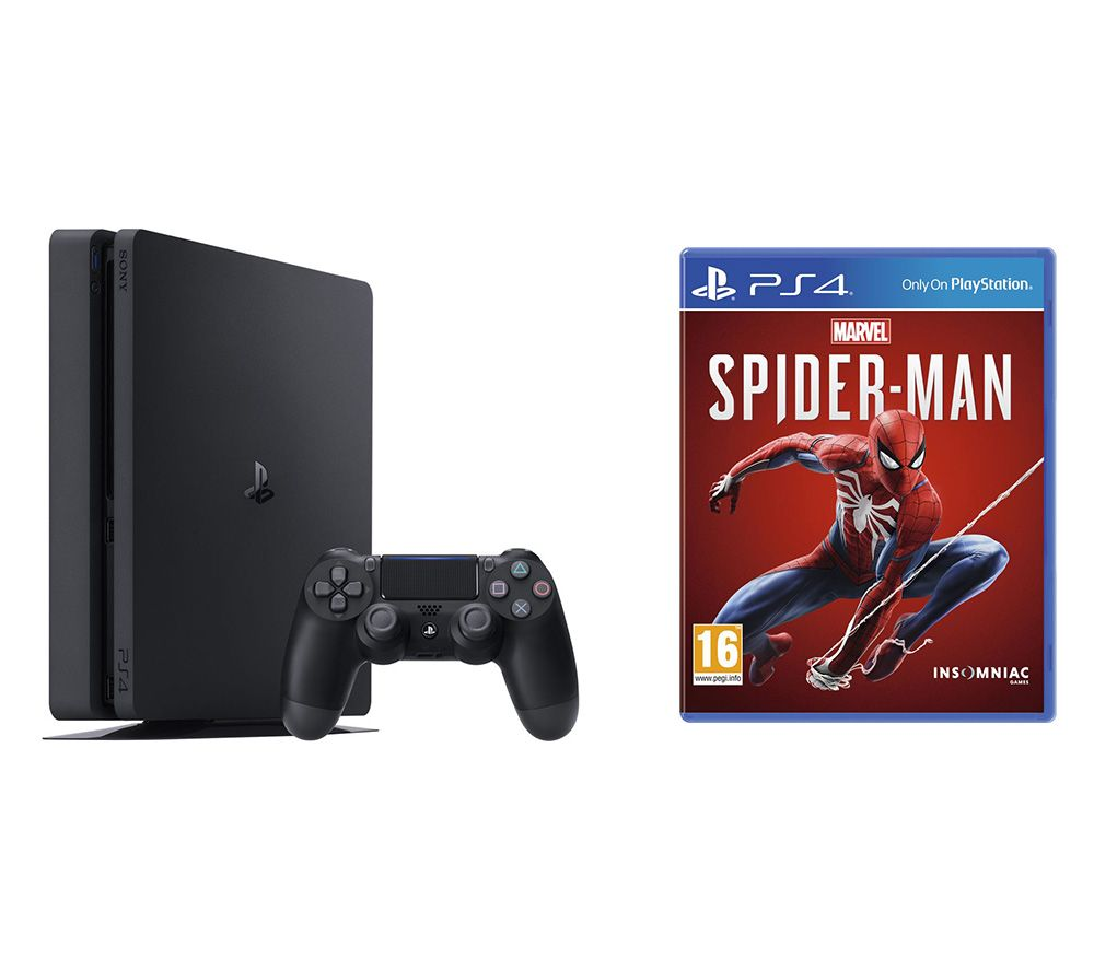 SONY PlayStation 4 & Marvels Spider-Man Bundle - 500 GB