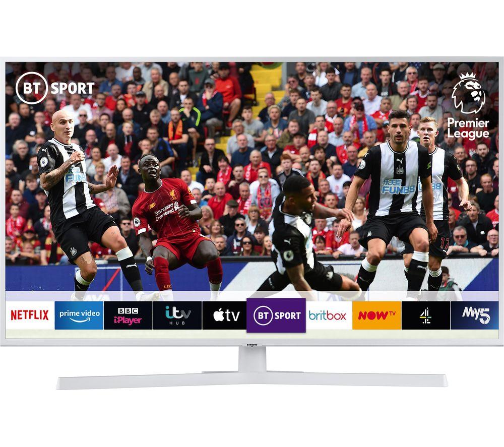 """SAMSUNG UE43RU7410UXXU 43"""" Smart 4K Ultra HD HDR LED TV with Bixby - White"""