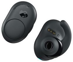 SKULLCANDY Push Wireless Bluetooth Earphones - Grey & Black