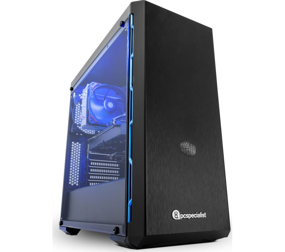 PC SPECIALIST Vortex SR Intel® Core™ i7 RTX 2060 Gaming PC - 2 TB HDD & 256 GB SSD