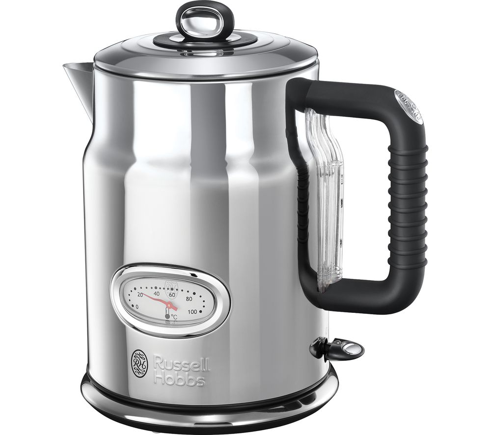 RUSSELL HOBBS Retro 21675 Jug Kettle - Silver