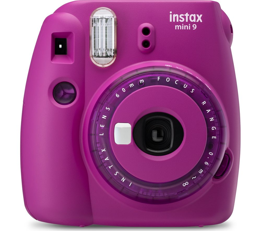 Click to view product details and reviews for Instax Mini 9 Instant Camera Purple Purple.