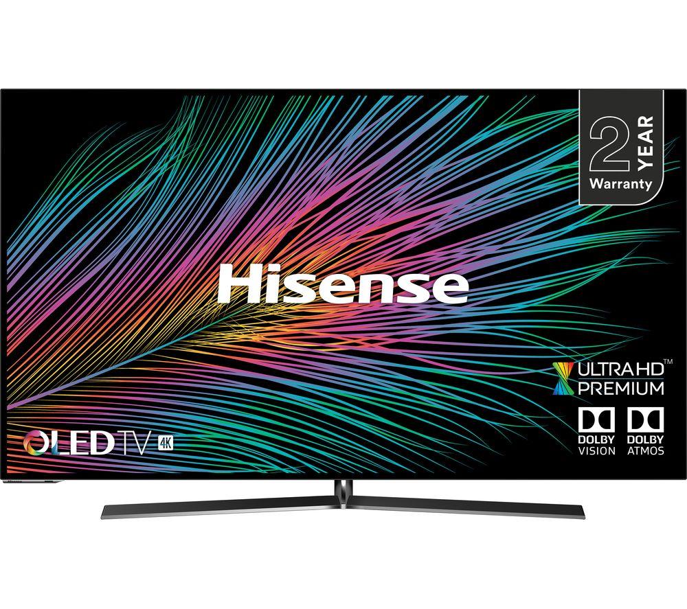 55à inchÇØ HISENSE H55O8BUK  Smart 4K Ultra HD HDR OLED TV