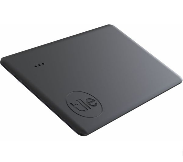 Image of TILE Slim (2020) Bluetooth Tracker - Black