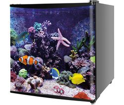 KUHLA KTTF4BGB-1007 Mini Fridge - Aquarium