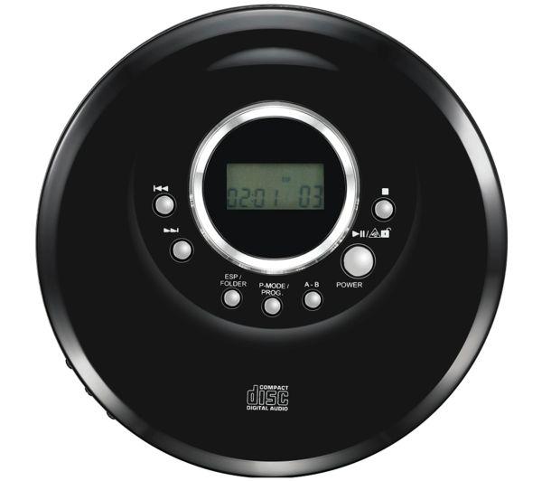 Image of LOGIK L1PERCD20 Personal CD Player - Black