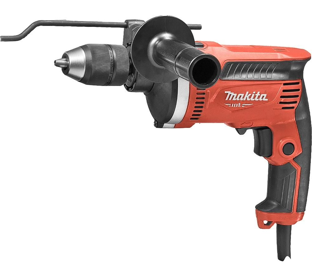 Image of MAKITA M8101K 710 W Percussion Hammer Drill - Red, Red