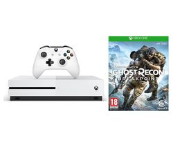 MICROSOFT Xbox One S 1 TB & Tom Clancy's Ghost Recon Breakpoint Bundle