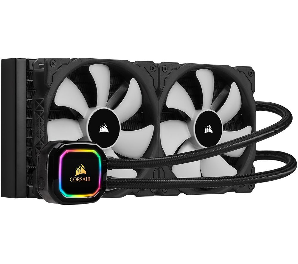 CORSAIR iCUE H115i XT Liquid 280 mm CPU Cooler - RGB LED
