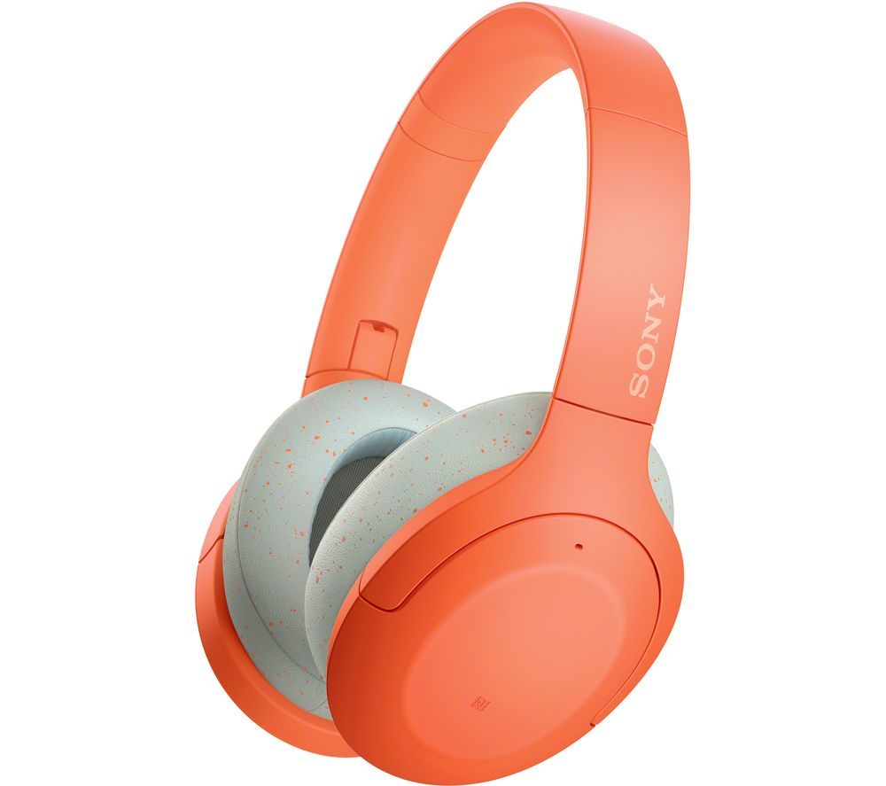 SONY WH-H910 Wireless Bluetooth Noise-Cancelling Headphones - Orange