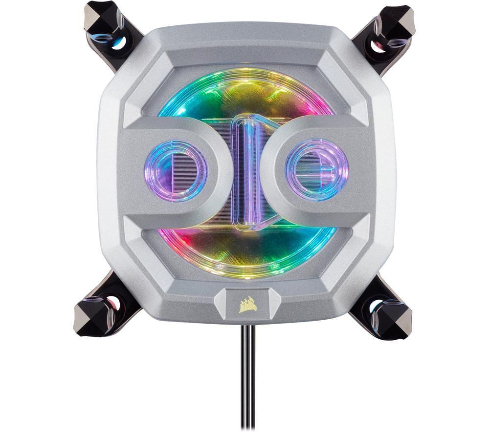 CORSAIR Hydro X Series XC9 RGB CPU Water Block - Nickel & Copper