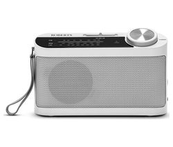 Classic 993 Portable FM/AM Radio - White