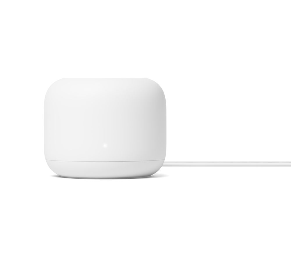 GOOGLE Nest WiFi Router - AC 2200, Dual-band