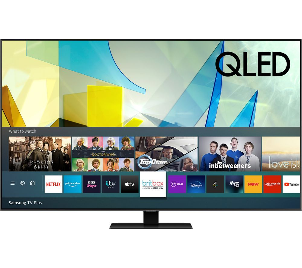 """SAMSUNG QE75Q80TATXXU 75"""" Smart 4K Ultra HD HDR QLED TV with Bixby, Alexa & Google Assistant"""
