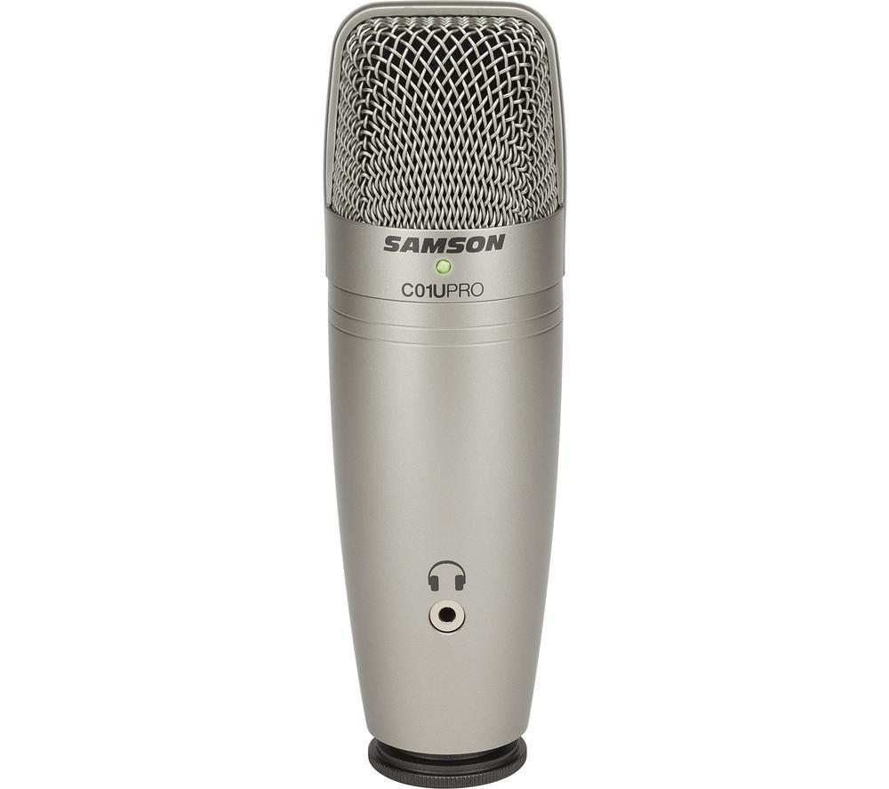 SAMSON C01U Pro Condenser Microphone - Silver