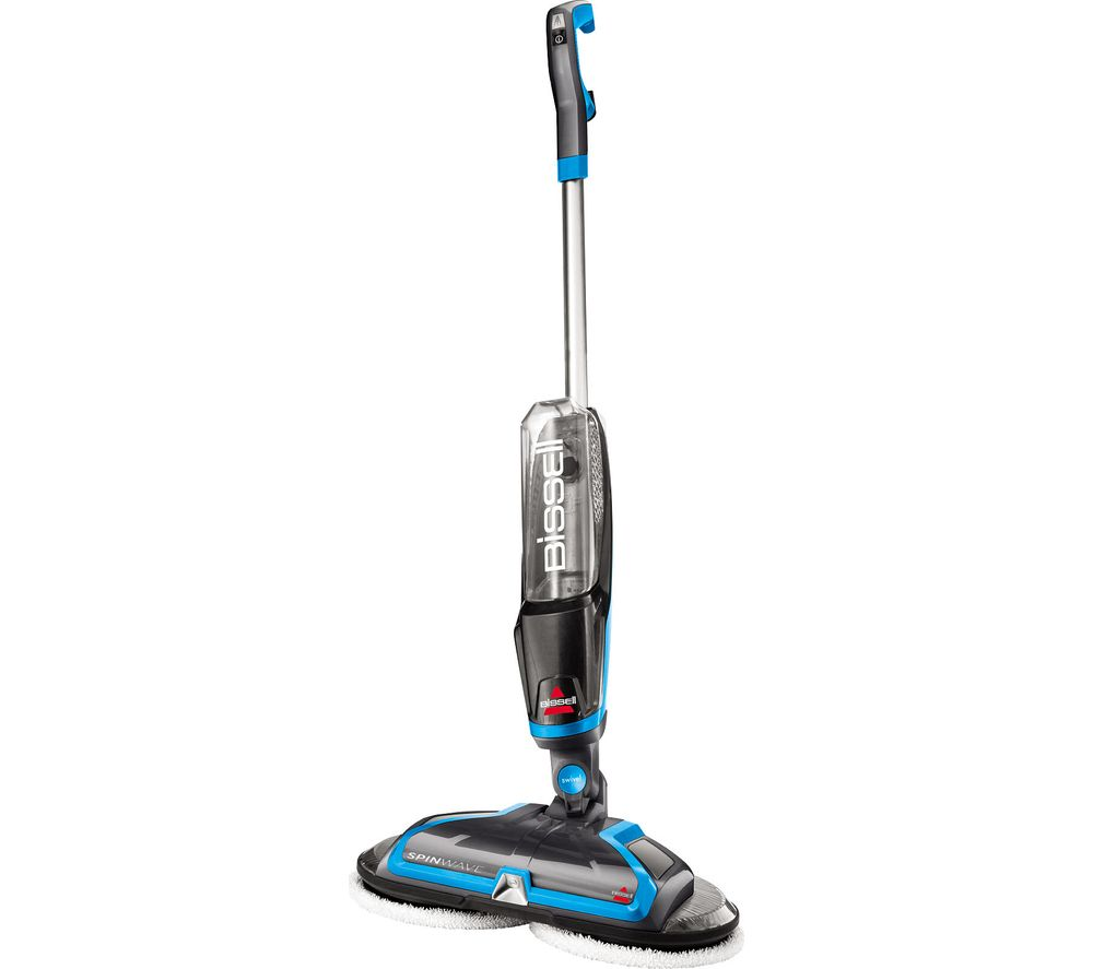 Image of BISSELL SpinWave 2052E Upright Carpet Cleaner - Blue, Blue