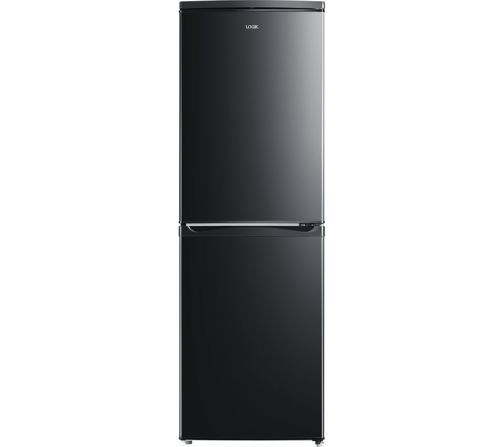 LOGIK LFC50B20 50/50 Fridge Freezer - Black, Black