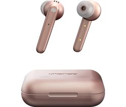 Paris Wireless Bluetooth Earphones - Rose Gold
