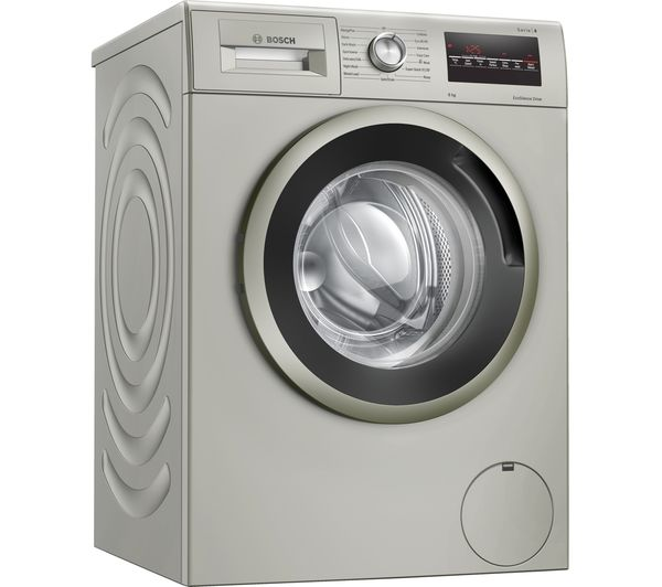 Image of BOSCH Serie 4 WAN282X1GB 8 kg 1400 Spin Washing Machine - Silver Inox