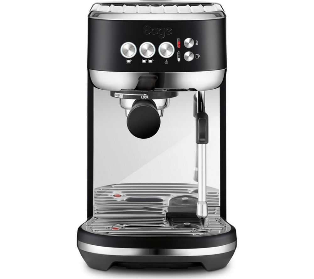 SAGE The Bambino Plus SES500BTR Coffee Machine - Black
