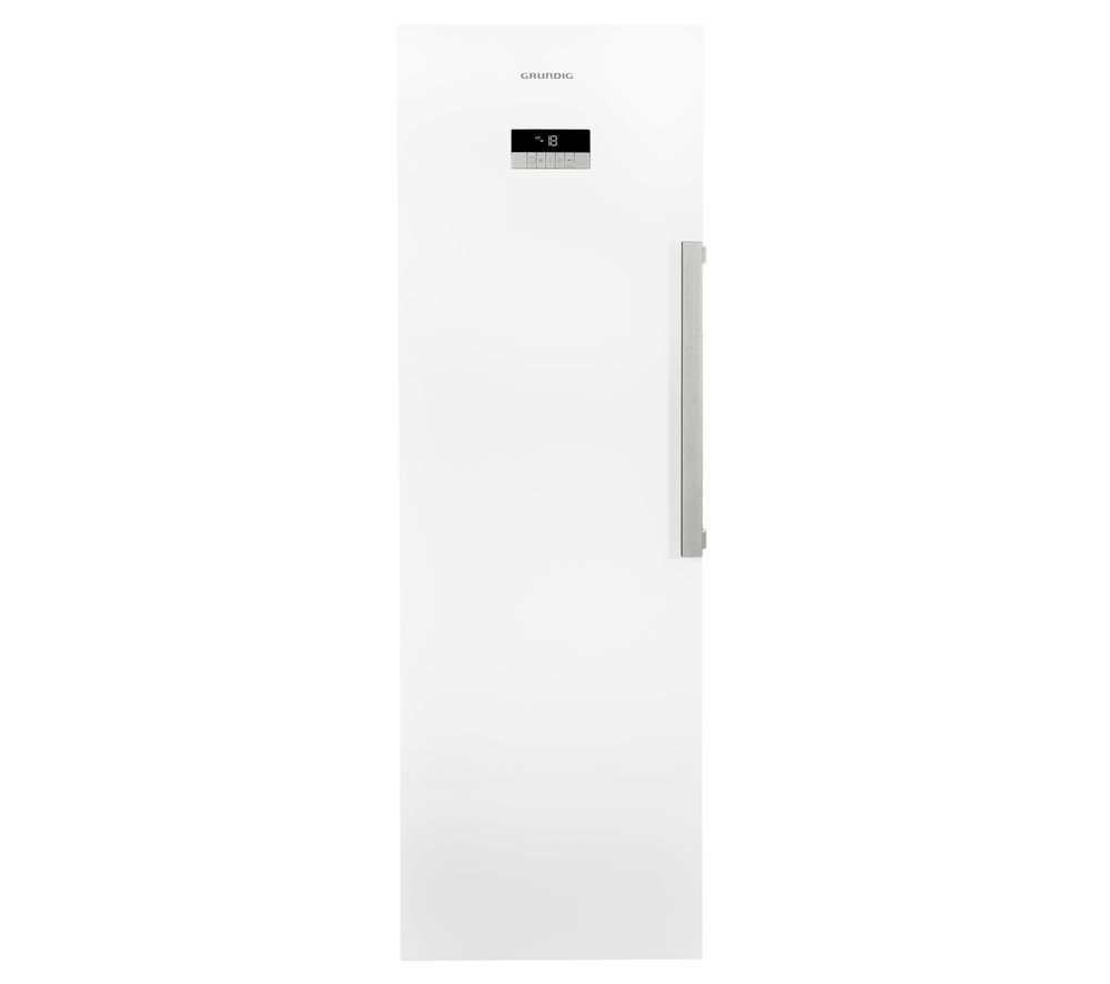 GRUNDIG GFN33810W Tall Freezer - White, White