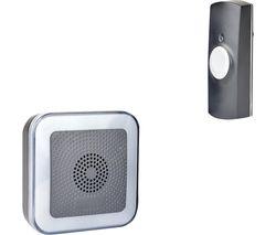MIP3 B7533BK Hearing Impaired Doorbell Chime - Black