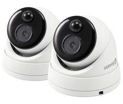SWPRO-1080MSDPK2-EU Full HD 1080p Add-On Security Cameras - 2 Cameras