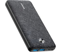 PowerCore Metro 20000 Portable Power Bank - Black & Grey