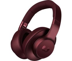 Clam ANC Wireless Bluetooth Noise-Cancelling Headphones - Red