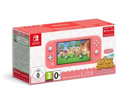 Switch Lite Coral & Animal Crossing: New Horizons Bundle