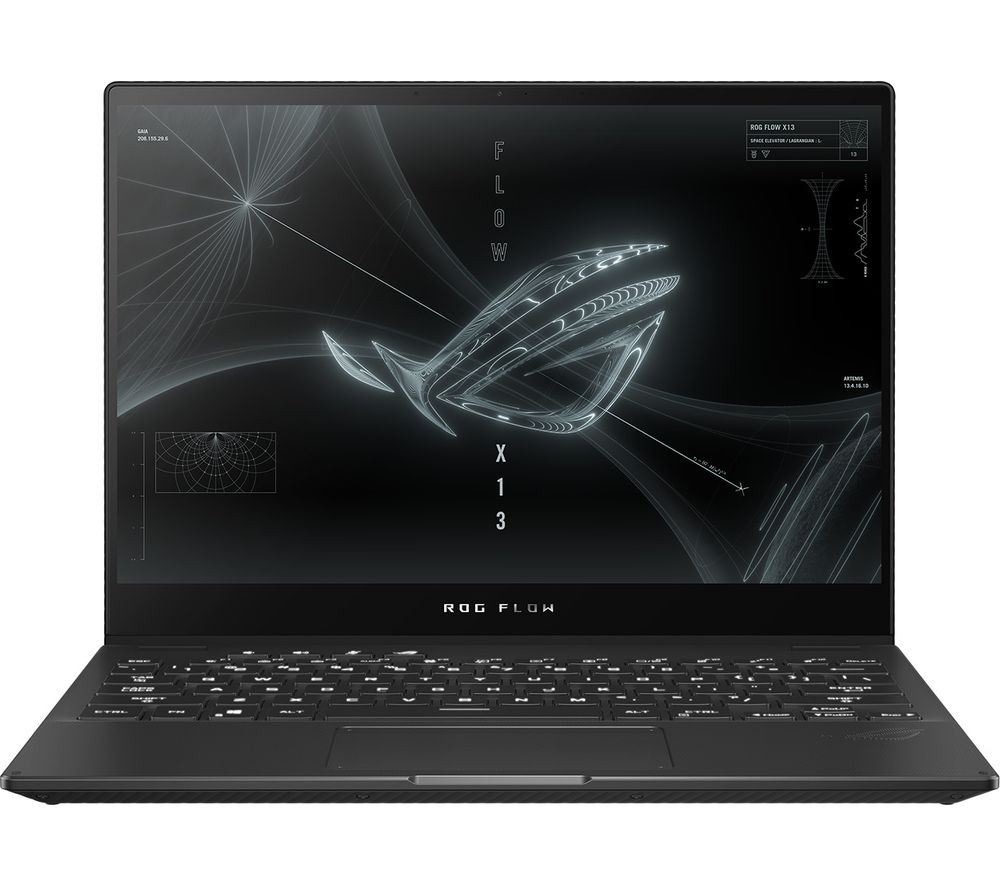 """Image of ASUS ROG Flow X13 13.4"""" Gaming Laptop - AMD Ryzen 9, GTX 1650 with RTX 3080 External Dock, 512 GB SSD"""