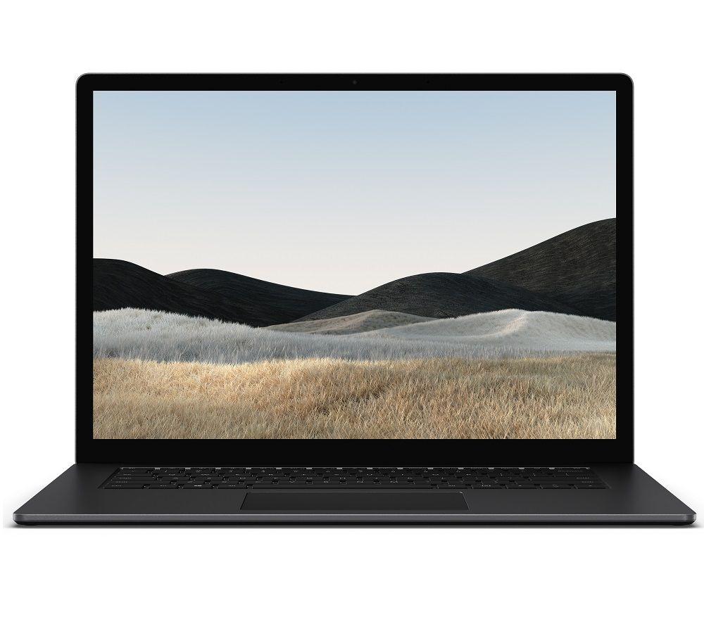 "Image of Microsoft 15"" Surface Laptop 4 - Intel®Core™ i7, 1 TB SSD, Matte Black, Black"