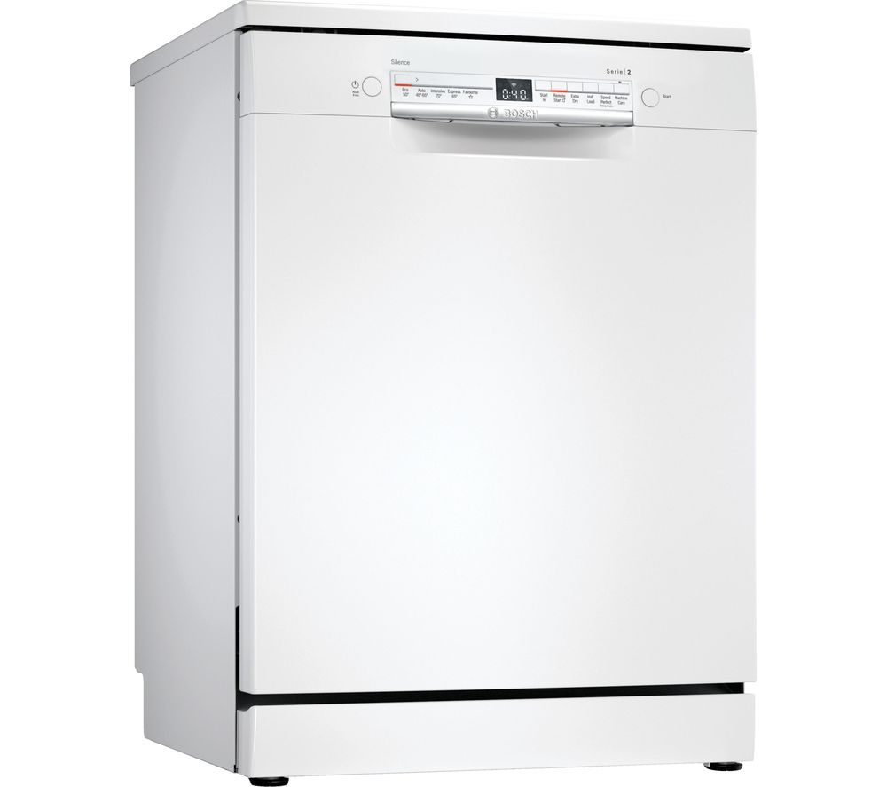 BOSCH Serie 2 SMS2ITW41G Full-size WiFi-enabled Dishwasher - White
