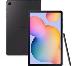 """Galaxy Tab S6 Lite 10.4"""" 4G Tablet - 128 GB, Oxford Grey"""