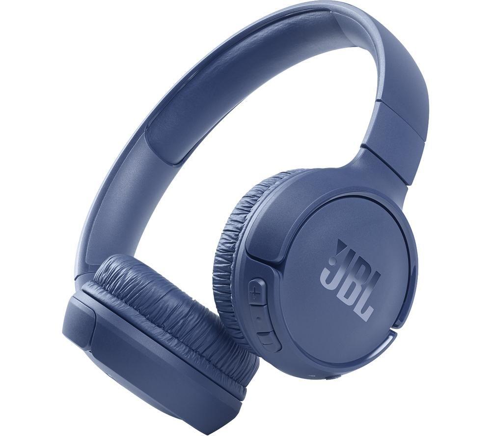 JBL Tune 510BT Wireless Bluetooth Headphones - Blue